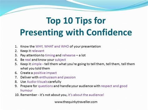 tips on presentation on pinterest presentation big fish top 10 presentation skills tips the quirky traveller blog