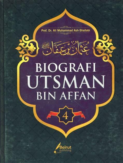 buku biografi utsman bin affan hard cover bukukita
