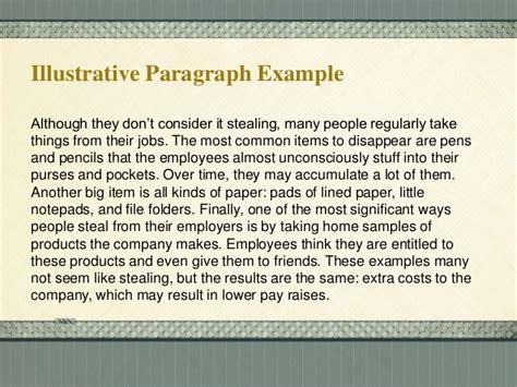 Illustrative Essays by Methods Of Paragraph Development