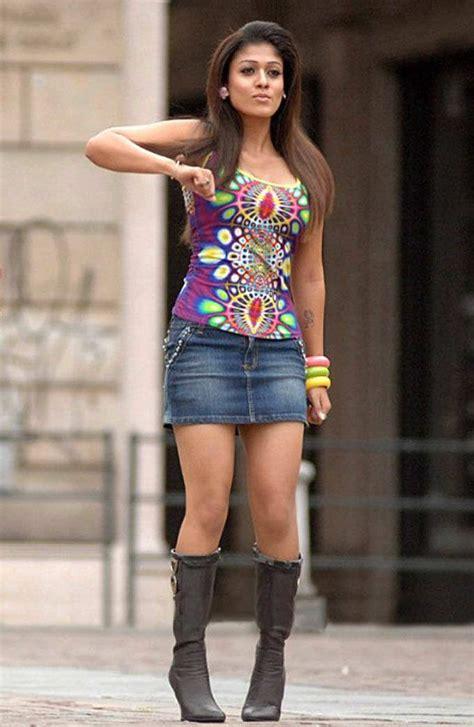 Indian Skirt 5 nayanthara in mini skirt desifunblog indian heroines in frock mini