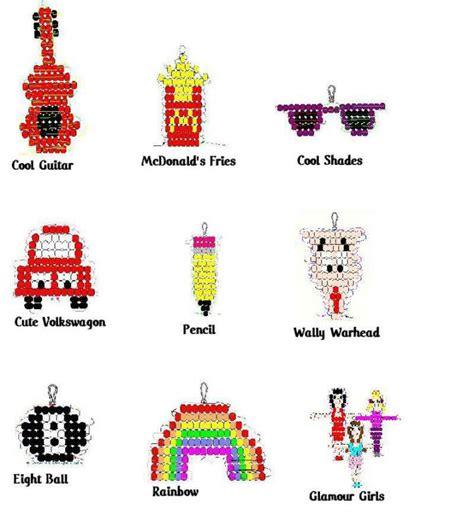 bead buddies patterns free not sure how to make a beadie here are illustrated