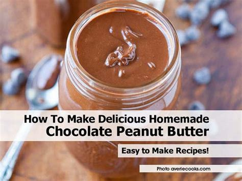 How To Make Handmade Chocolates At Home - how to make delicious chocolate peanut butter
