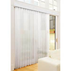 Sliding Door Valance Vertical Blind Solution Window Sheer Curtain Walmart Com