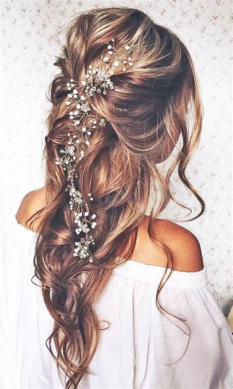 208 best wedding hairstyles images on pinterest bridal best 25 bohemian wedding hair ideas on pinterest