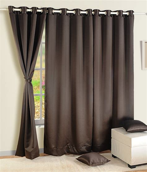 door blackout curtains swayam single door blackout curtain buy swayam single