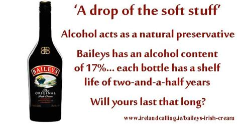 baileys irish cream silky smooth liqueur ireland calling