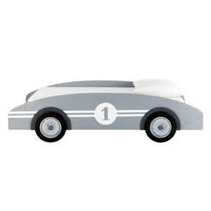 lit voiture enfant gris circuit maisons du monde