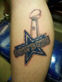 cowboys tattoo amazing and simple dallas cowboys design