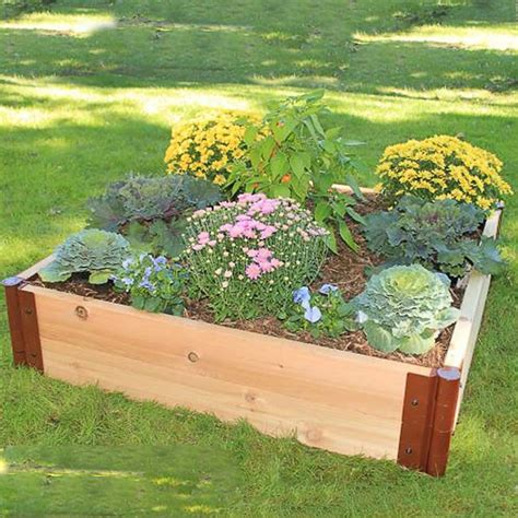 raised cedar garden bed raised cedar garden beds western red cedar raised garden