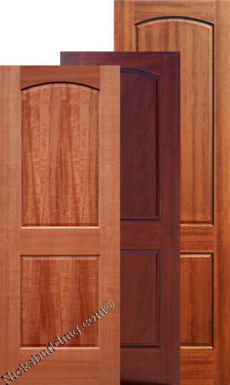 Two Panel Doors Interior Doors Mahogany 8 Interior Doors