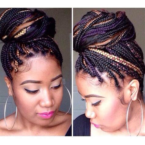 how to mix box braid colors gold purple highlight box braids i am not my hair i
