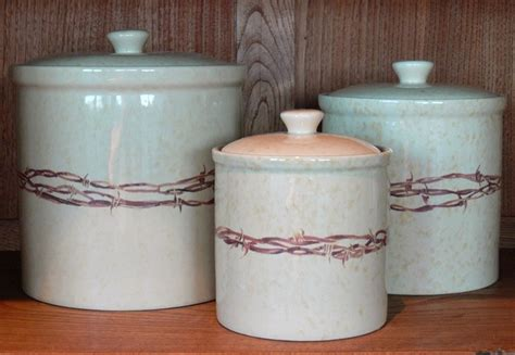 western kitchen canisters 12 best cowboyliving com western dinnerware images on