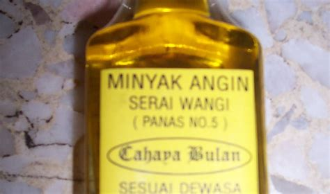 Minyak Atsiri Serai Wangi koleksi minyak urut minyak angin serai wangi