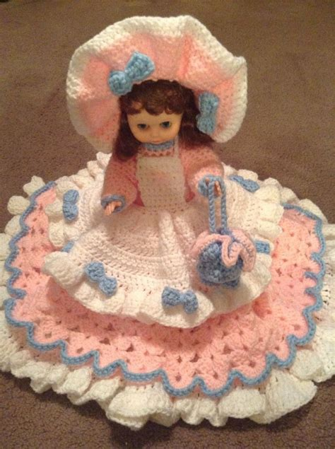 bed dolls handmade 13 quot crochet doll quot emma quot bed doll ebay