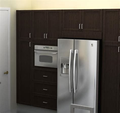 kitchen cabinet refrigerator ikea kitchen hack put the space above the refrigerator to