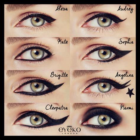 Eye Liner Black makeup review swatches eyeko black magic liquid