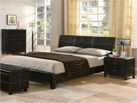 Black Leather Bedroom Set by Modern Wood Vanity Black Leather Bedroom Furniture Faux
