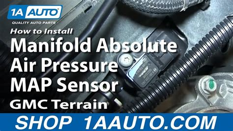 install replace manifold absolute air pressure map