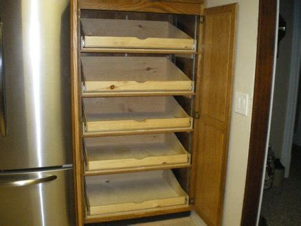 adjustable pantry drawer slides full extension pull out pantry shelves for a friend by