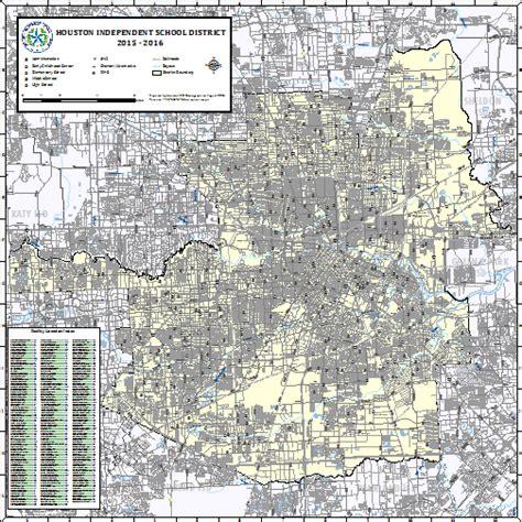 houston isd map houston isd map indiana map