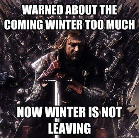 Ned Stark Meme Generator - ned stark winter is coming meme