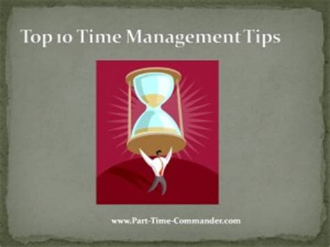 Top 10 Time Management Tips For Every Day by Top 10 Time Management Tips For Army Ncos Citizen