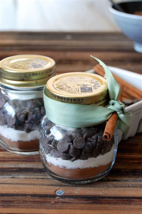 edible diy gifts chocolate mix