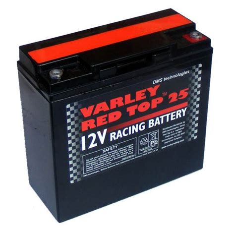 red battery light car varley red top 25 race rally car battery k770 k513