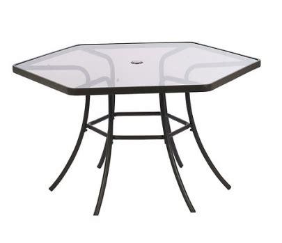 Hexagonal Patio Table Hexagon Patio Table Outdoor Furniture Outdoor Furniture