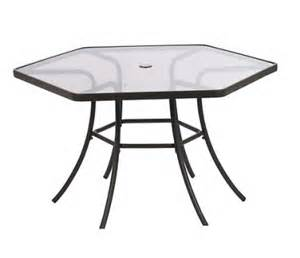hexagon patio table outdoor furniture outdoor furniture