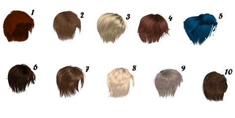 mmd huge male hair pack dl by sims3ripper on deviantart