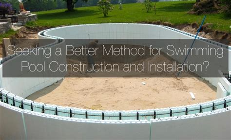 Insulated Concrete Forms Home Plans by Insulated Concrete Forms For Swimming Pools Icf Pool