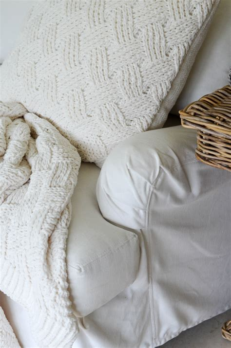 How To Keep A White Slipcovered Sofa Clean Beautifully Roll Arm Sofa Slipcover