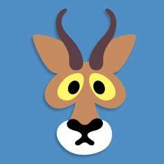 anteater mask template printable printable anteater mask masks pinterest printable