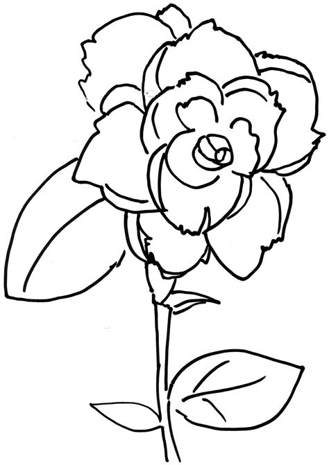 coloring page flower bud rose bud flower coloring pages for kids unique coloring
