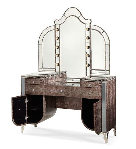 Aico Vanity Set Swank Vanity By Aico Aico Bedroom Furniture