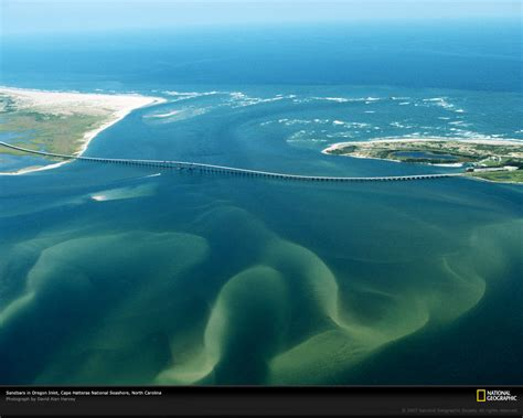 outer banks sandbars