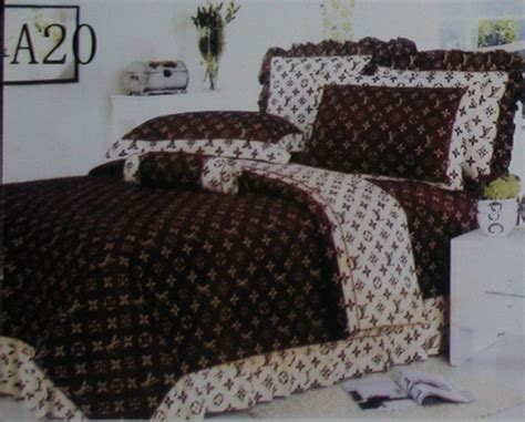 louis vuitton comforter set louis vuitton bed set louis vuitton pcs authentic luxury bed set satin made in decorate