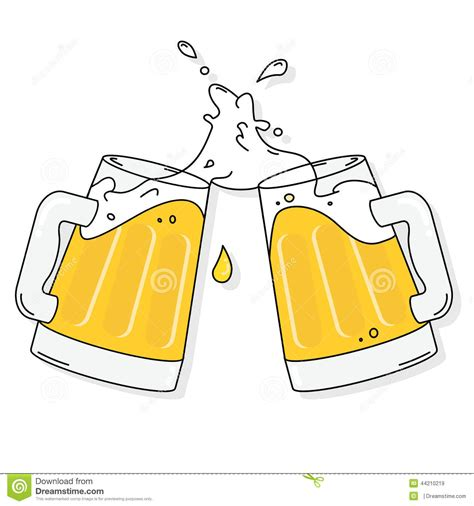 beer cheers cartoon alcohol clipart cheer beer pencil and in color alcohol