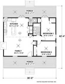 Floor Plans For A Small House by Small House Plans Plan 109 1010