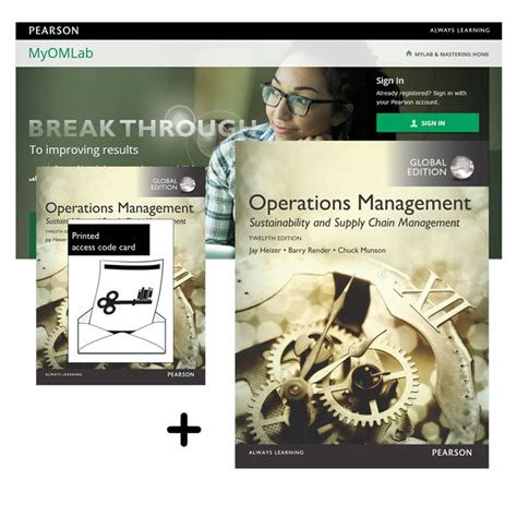 Operations Management Sustainability And 12th Edition Ebook Value Pack Operations Management Sustainability Supply