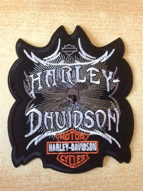 Harley Davidson Skull Uk 35x35 Cm 1000 images about harley patch on biker patches harley davidson patches and harley