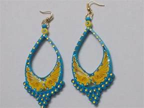 earing design fancy quilling paper earring designs 2015 quilling designs