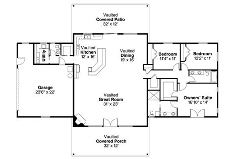small ranch floor plans unique single story ranch house plans new home plans design