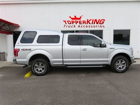Top Of The Line Ford F150 by Spacious Leer 122 On Silver Ford F150 Topperking