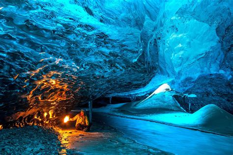 iceland ice caves iceland s ice caves look beautiful in these pictures by