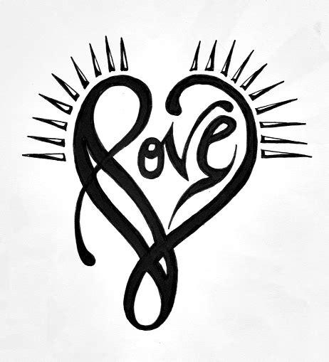 tribal love tattoo love tribal by jw2011 on deviantart