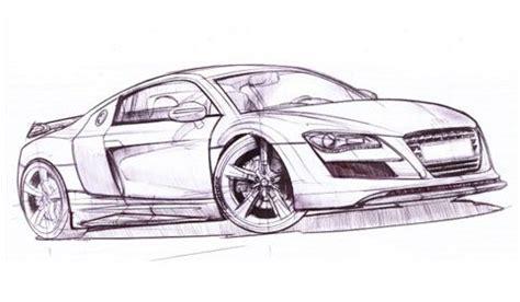auto draw world future car car drawing