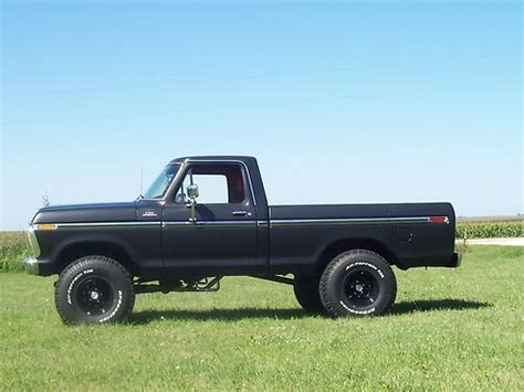 1979 ford f150 4x4 short bed for sale sell used 79 ford f 150 4x4 short bed numbers matching