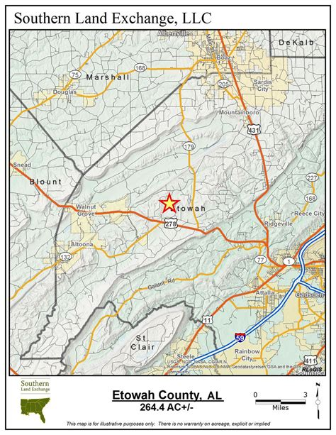Etowah County Property Records 264 40 Acres Land For Sale Etowah County Al Land And Farm